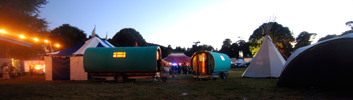 Greg's Gypsy Bowtops at Port Eliot Festival