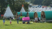 Greg's Gypsy Bowtops at Camp Bestival