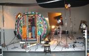 Greg's Gypsy Bowtops at Isamaya ffrench promotional shoot