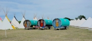 Greg's Gypsy Bowtops at Larmer Tree Festival