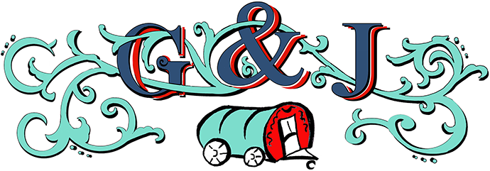 Greg and Jules Gypsy Bowtop Caravans - logo