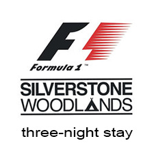Silverstone F1 (three-night stay)