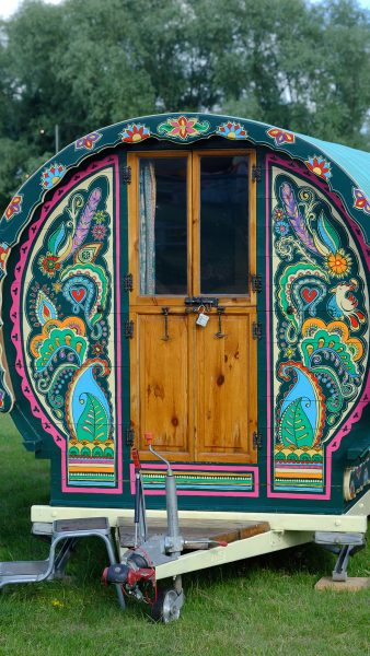 Exterior of Ziggy - Gypsy caravan for hire