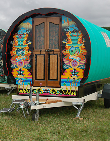 Exterior 'Flo' - Gypsy Caravan for Hire
